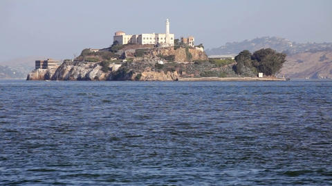 Alcatraz Island Stock Video Footage