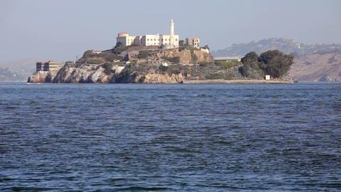 Alcatraz Island Stock Video Footage