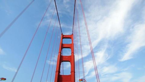 Golden Gate Bridge Drive Footage