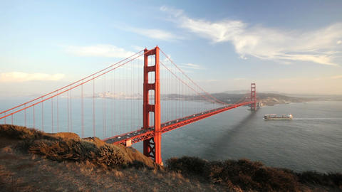 Golden Gate Bridge Footage