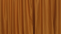 Background Establishing Shot Curtain Orange Front stock footage