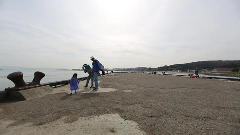 SAN FRANCISCO,CALIFORNIA - April 2012 :dolly shot  Footage