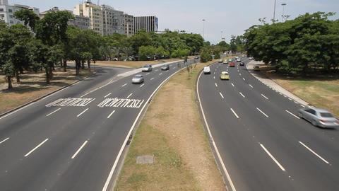 Traffic in Rio de Janeiro Live Action