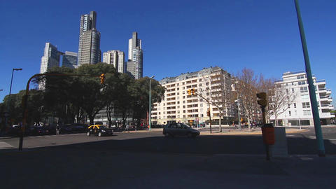 Puerto Madero in Buenos Aires Footage