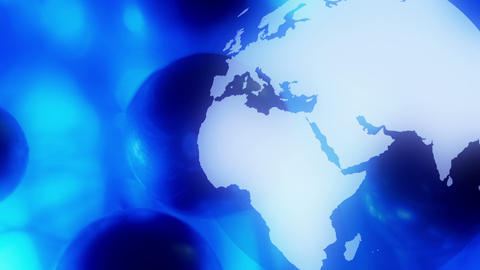 Internet concept of global business Animation