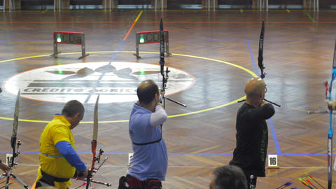 Aiming Bow and Arrow Live Action