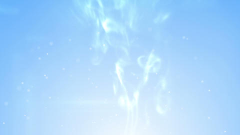 blue smoke swirls and sparks loopable Animation