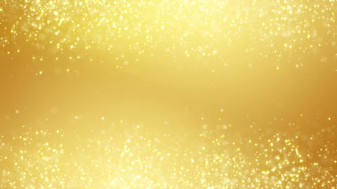 gold glitter dust two sides seamless loop backgrou Animation
