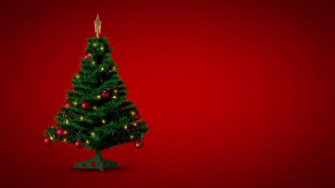 Loopable Christmas Background stock footage