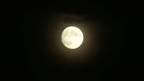 Supermoon Full Moon Footage