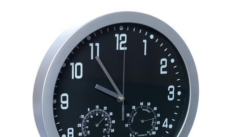 Clock 01 Time Lapse Accelerated 4k stock footage