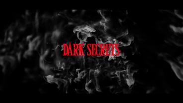 DARK SECRETS stock footage