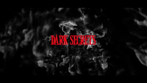 DARK SECRETS After Effects Template