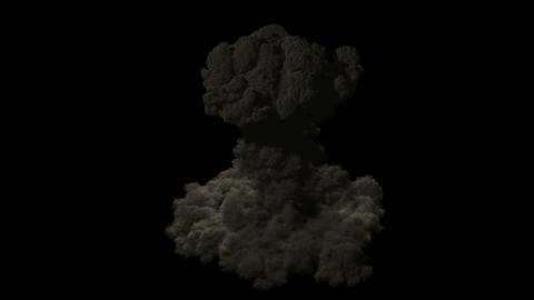 Nuke - Nuclear bomb 4K Stock Video Footage