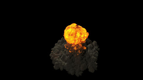 Nuke - Nuclear Bomb 4K stock footage