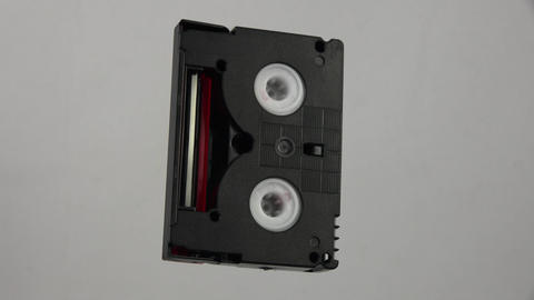 Cassette mini dv. 4K Footage