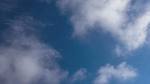 Time Lapse Seamless Loop Clouds stock footage