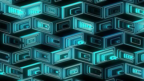 Neon Pattern 001 B Beat Random SC Animation