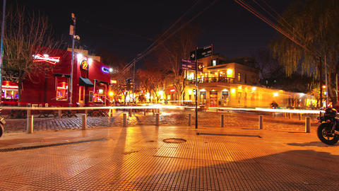 Plaza Armenia In Buenos Aires stock footage