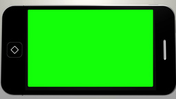 Hand using smartphone with green screen CG動画