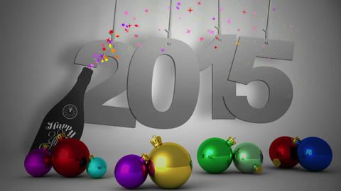 2015 Hanging With Decorations stock footage