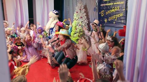 New Year's children's costume contest, animators p Live Action