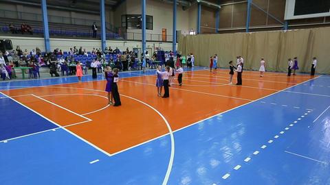 Children's Ballroom dancing tournament, guidance o Live Action