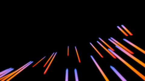 colorful glowing stick Animation