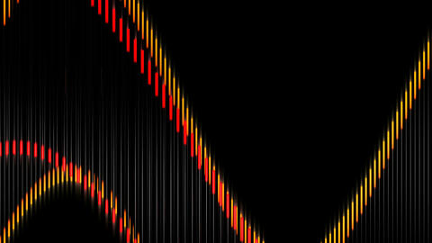 wave lines strip Animation