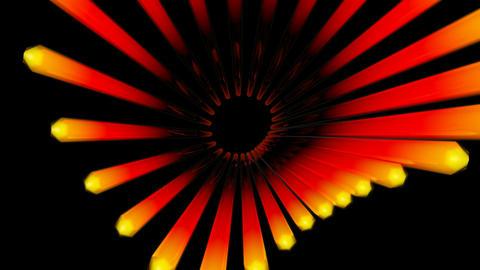abstract sun flower Animation