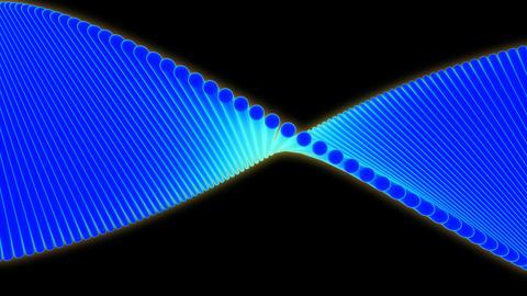 blue wave plane Animation