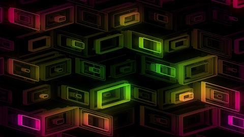 Neon Pattern 001 B Alternate Strength GSC Animation