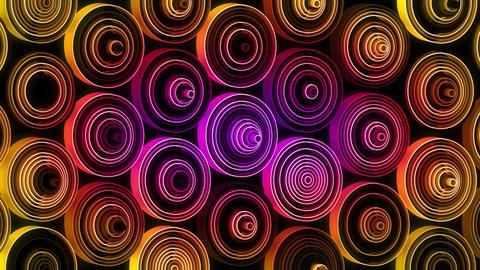 Neon Pattern 003 B Beat Random GSC Animation