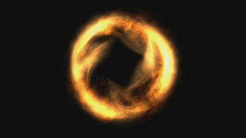 Fire Ring Animation Animation