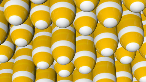 Naline HD Cps 0401 Yellow White Stripes stock footage