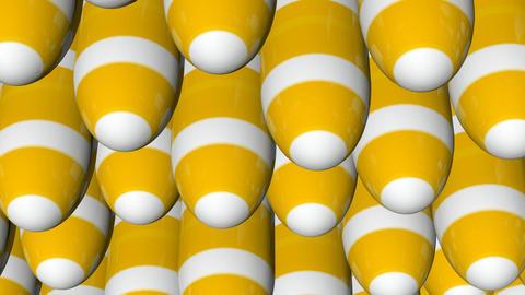 Yellow White Stripes stock footage