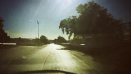 Timelapse crazy car travel Mediterranean Footage