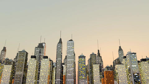 Skyline Animation