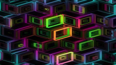 Neon Pattern 001 B Alternate Strength GTC Animation