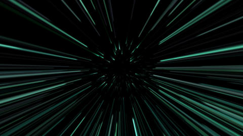 Green laser beams. 4K UHD 3840 x 2160 Animation