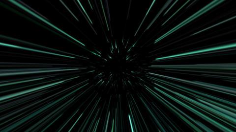 Green laser beams. 4K UHD 3840 x 2160 Animation