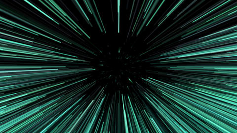 Green beams seamless looping background. 4K UHD 38 Animation