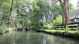Boat trip by the channels of Spreewald Live Action