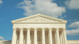 United States Supreme Court In Washington D.C stock footage