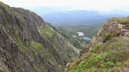 Alpine landscape in Karkonosze mountains Footage
