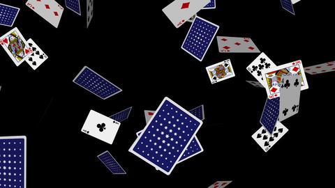 Poker Cards Explosion - 03 - Alpha Animation