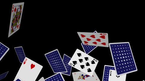 Poker Cards Explosion - 04 - Alpha Animation