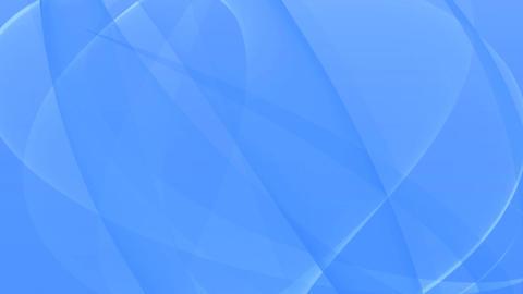 Elegant Waving Canvas - 2 - Blue - Loop ภาพเคลื่อนไหว