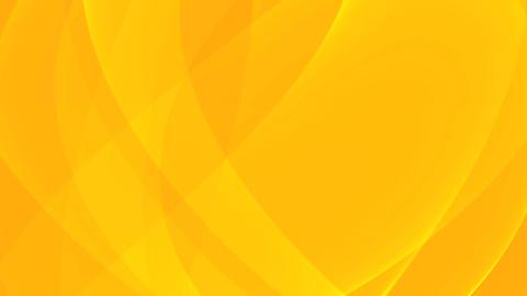 Elegant Waving Canvas - 5 - Orange - Loop Animation