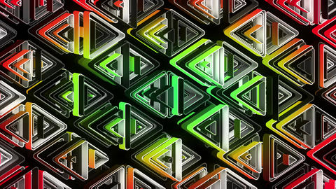 Neon Pattern 002 B Alternate Random GSC Animation